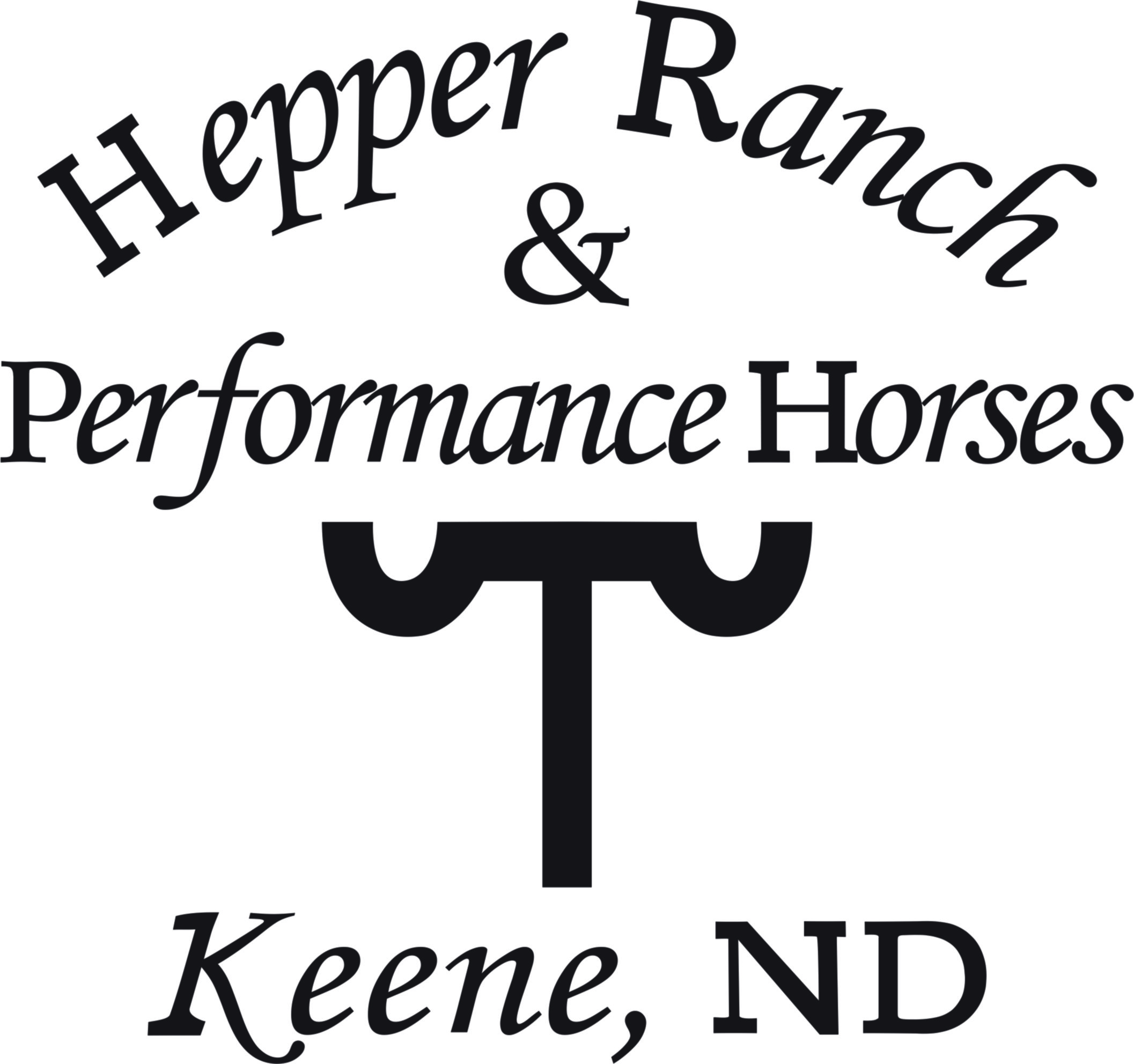 Hepper Ranch & Performance Horses - Jeff & Eva Hepper